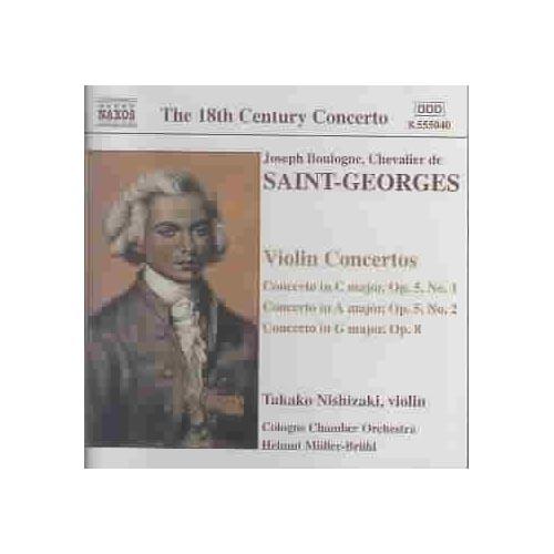 Chevalier De Saint-Georges - Boulogne: Violin Concertos [CD]