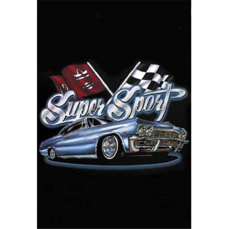 Hot Stuff 1094-08x10-LO 8 x 10 in. Super Sport Lowrider Poster Print