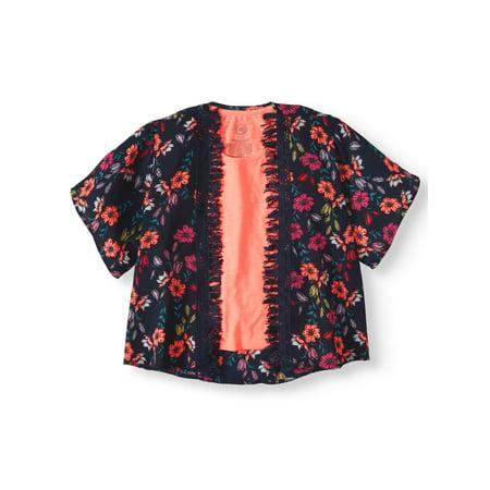 Tassel Trim Kimono and Tank, 2-Piece Set (Little Girls & Big Girls)](Kimono Child)