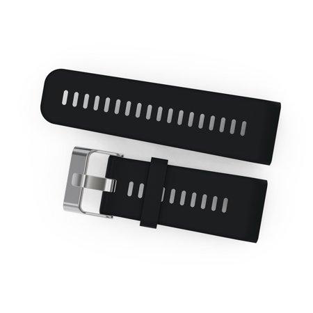 Soft Silicone Wristband Quick Release Bracelet Watch Strap for Garmin Vivoactive HR Watch Wrist Band Strap ...
