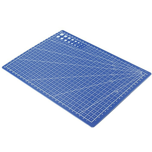 Girl12Queen Useful A4 Cutting Mat Printed Grid Lines Scale Plate Knife Leather Paper Board
