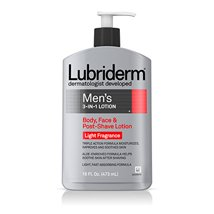 Body Lotions: Lubriderm Men's 3-In-1