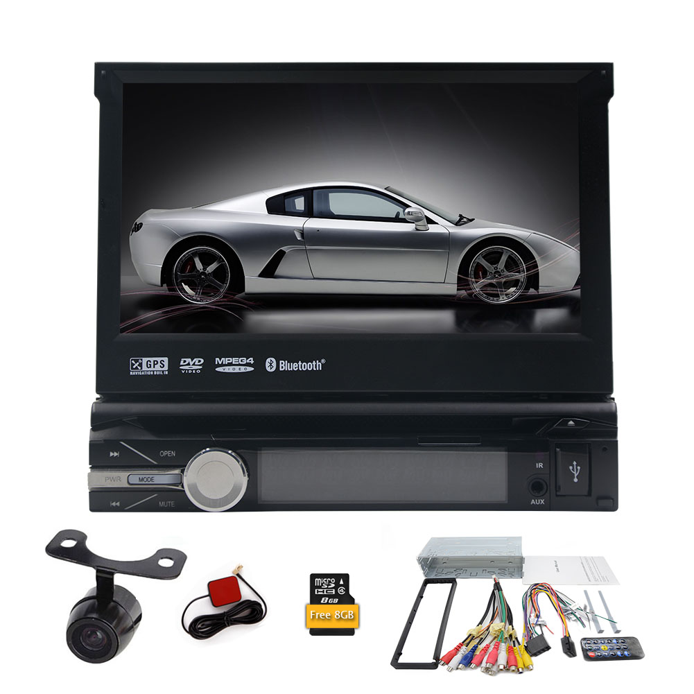 HD Waterproof Reversing Camera+7 inch 1 din Car DVD Playe...