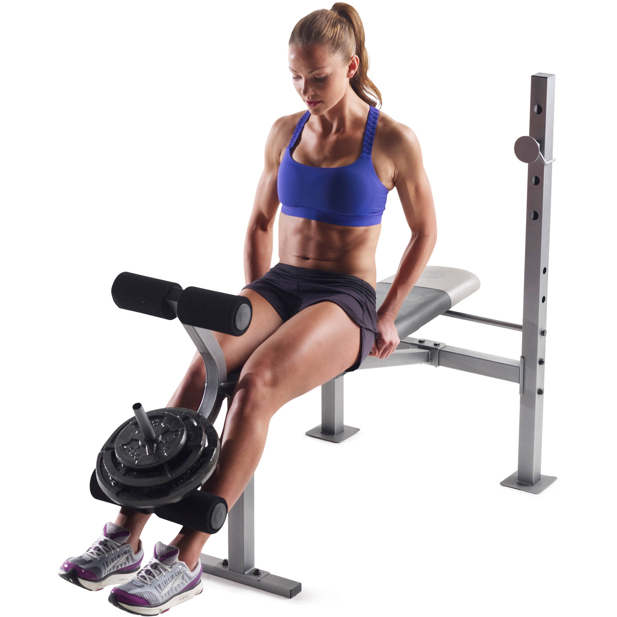 Home Exercise Equipment For Legs: Weight Bench Home Exercise Workout Multi Use Lifting Press