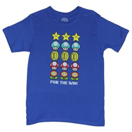 Super Mario Brothers (Nintendo Wii, Galaxy Kart) Mens T-Shirt  - For the Win