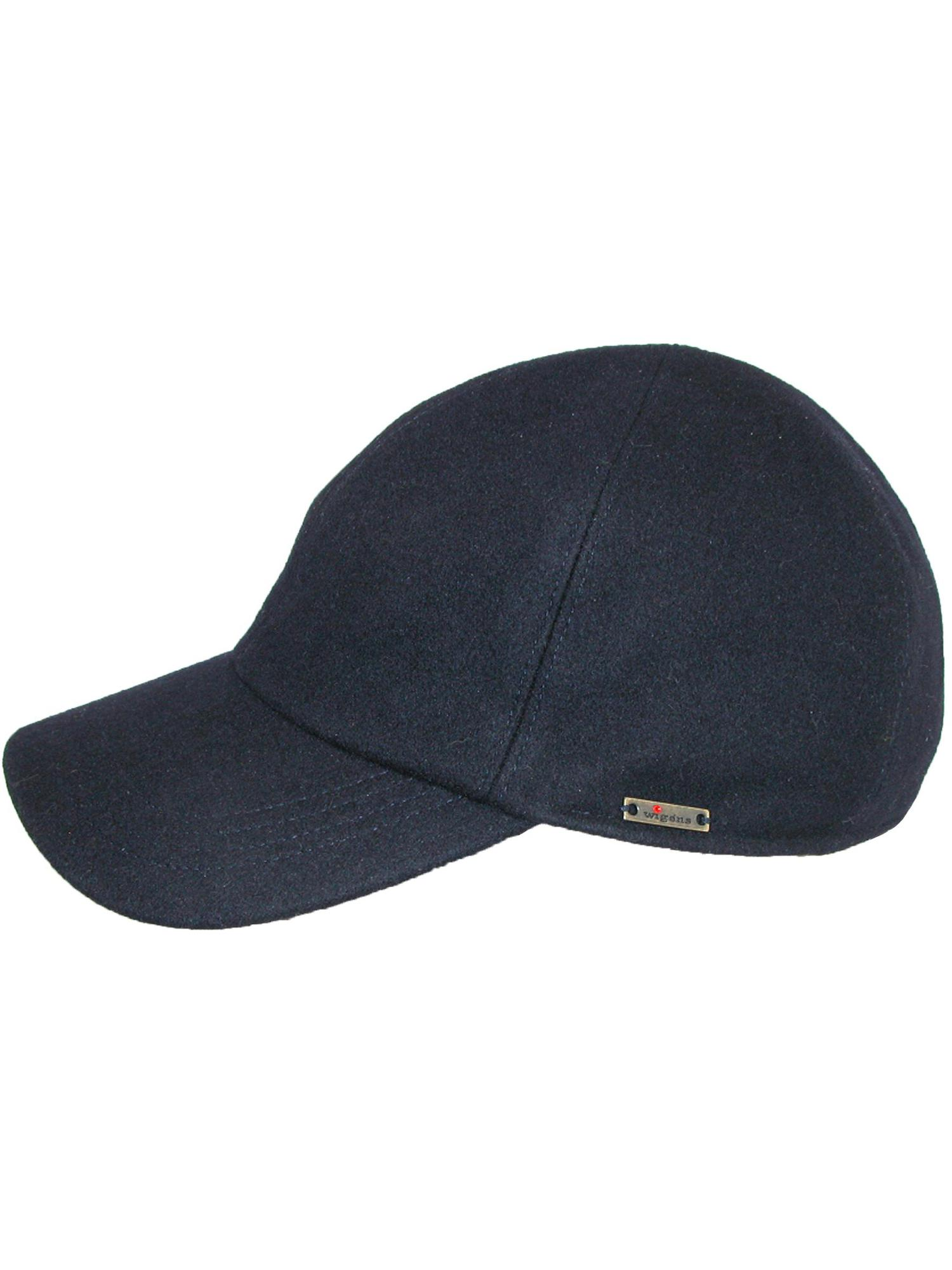 e0b6ac68856332 WIGENS - Size 56 Mens Kent (Edgar) Wool Baseball Cap with Earflaps, Black -  Walmart.com