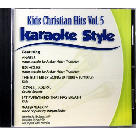 Kids Christian Hits Volume 5 Karaoke Style CD+G Daywind 6 Songs - Great Halloween Karaoke Songs