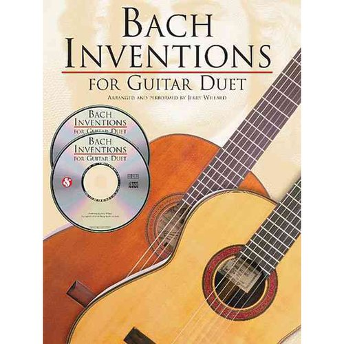 Bach Inventions For Guitar Duet by