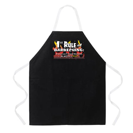 1st Rule of BBQing Aprons by LA Imprints Novelty Gift Kitchen Bar Grill Humor Funny Attitude