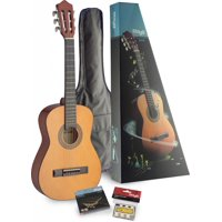 Stagg C510 PACK 1/2 Size Classical Guitar Pack with Gig Bag and Pack of Strings Included