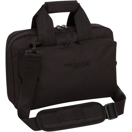 Fieldline Pro Series Shooters Bag, Pistol Case Range Bag Black
