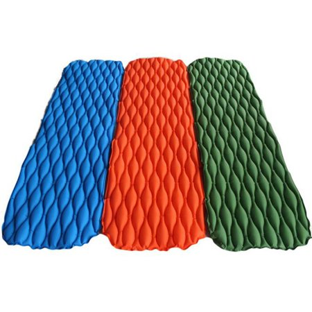 Meigar Portable Inflatable Sleeping Pad Compact Camping Backpacking Air Pad Lightweight Sleeping Mat Portable Hiking Mattress