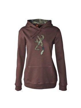 82e964645bc18 Product Image Womens NWT Browning Buckmark Camo Hickory Brown Hoodie  Sweatshirt XL