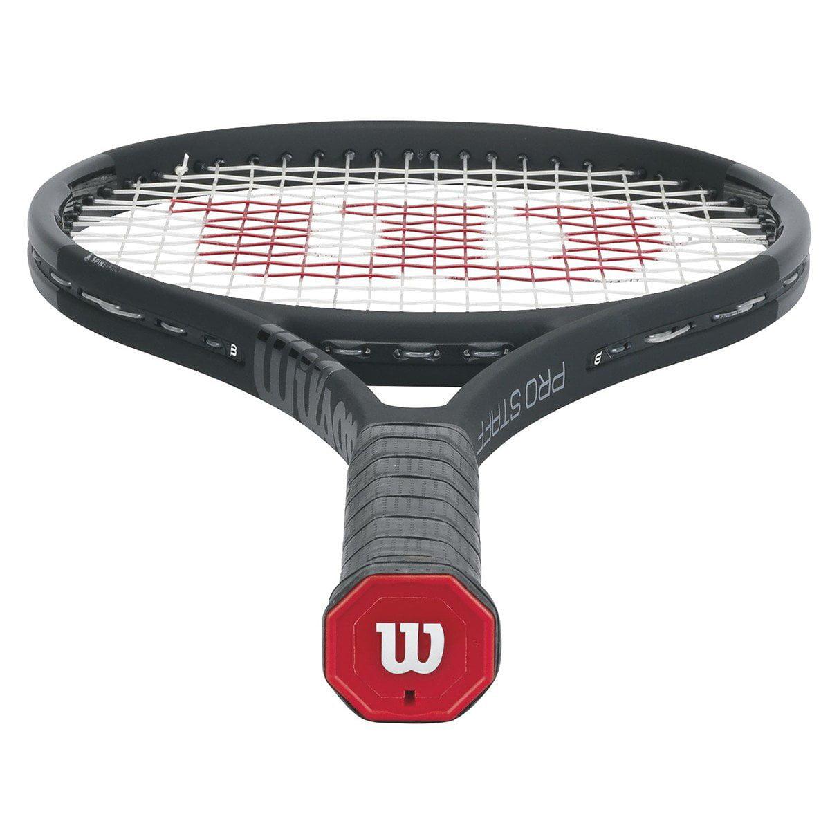 8213b531f Wilson Pro Staff 97 LS Black Tennis Racquet Grip  4 3 8 - Walmart.com