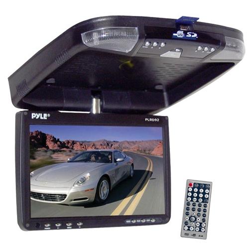 Pyle Audio PLRD92 Pyle PLRD92 Car DVD Player 16:9 DVD Video, Video CD, MP4, SVCD, MPEG-1, MPEG-2, DivX FM SD USB iPod... by Pyle