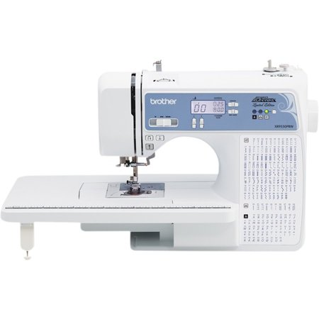 Brother XR9550PRW, Project Runway Licensed Computerized Sewing and Quilting Machine with Hard