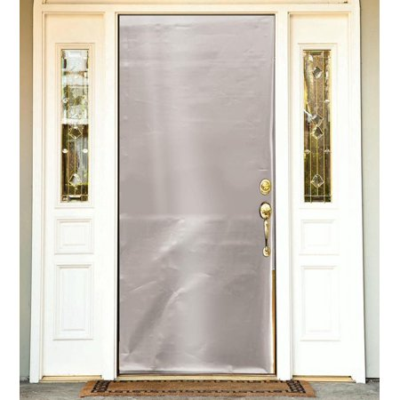 Solid Metallic Color Door Cover Fancy Holiday Christmas