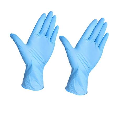 Tuscom Rubber Comfortable Disposable Mechanic Exam Nitrile Gloves