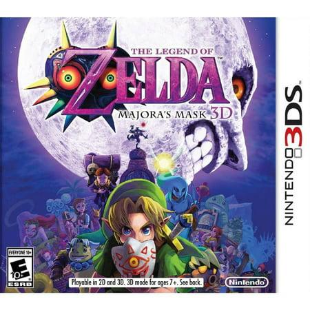 Legend Of Zelda  Majoras Mask 3D  Nintendo 3Ds