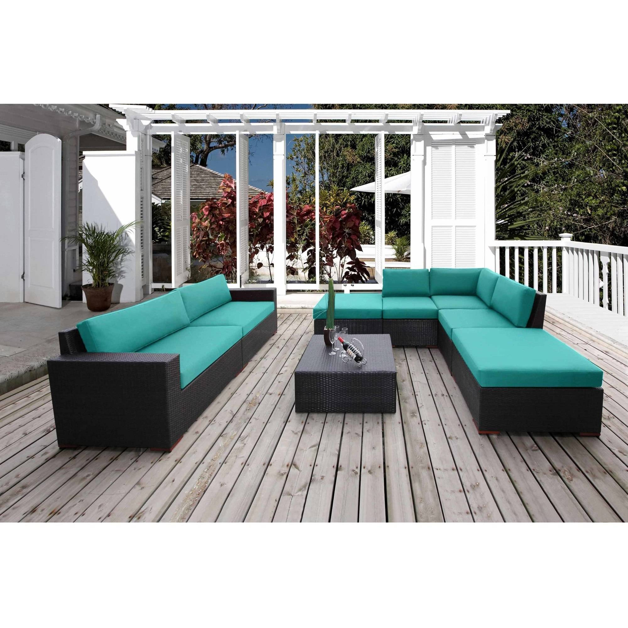 Nevis 8-Piece Sectional Seating Set
