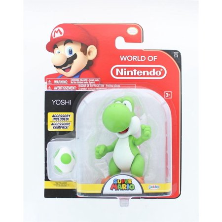World of Nintendo Super Mario 4 inch Action Figure - Yoshi