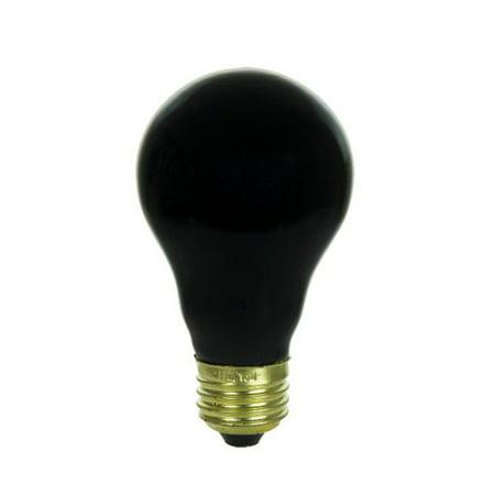 SUNLITE 75w A19 120v Medium Base Blacklight Blue Light - 75w Blacklight Bulb