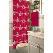 NCAA Ohio State University Shower Curtain, 1 Each