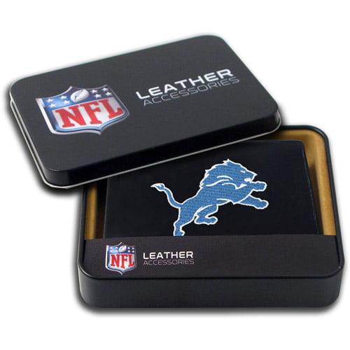 NFL - Men's Detroit Lions Embroidered Billfold Wallet