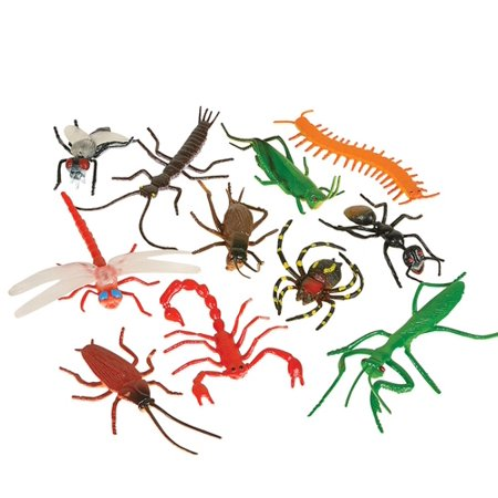 "3"" ASSORTED INSECTS, Case of 20"