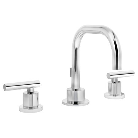 Dia Widespread 2-Handle Bathroom Faucet with Drain Assembly in Polished Chrome (1.5 (Widespread Spout Assembly)