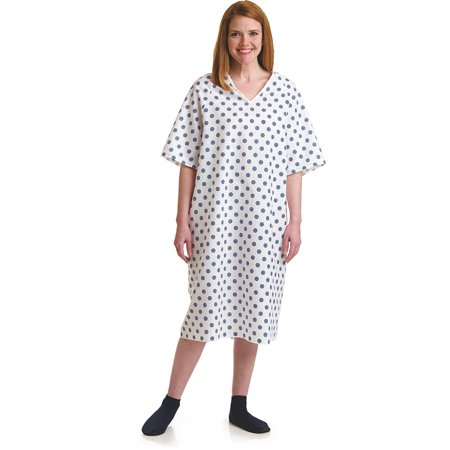 3XL Deluxe Cut Oversized Hospital Gowns - Halloween Hospital Gown