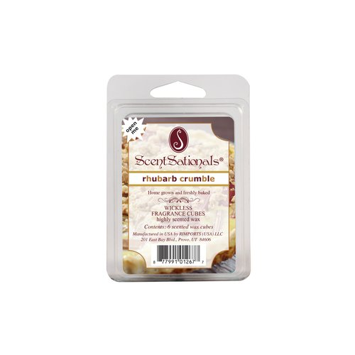 Better Homes and Gardens Rhubarb Crumble Fragrance Cubes, 6pk