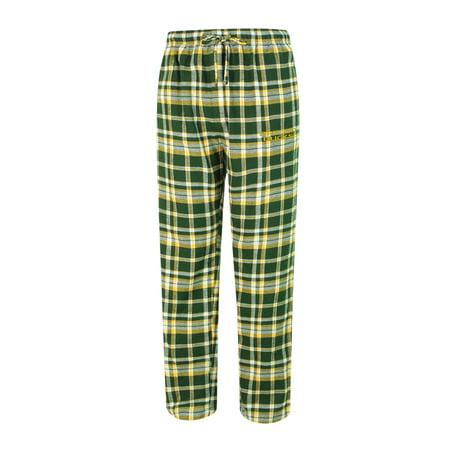 - Oregon Ducks Adult Bleacher Flannel Pants - Gold