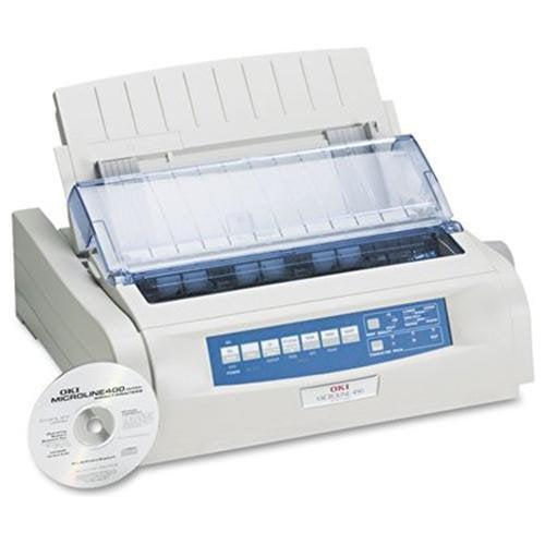 Oki 62418901 MICROLINE 490 Dot Matrix Printer Max Duty Cycle 20 000 Pages