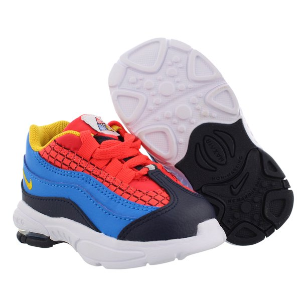 Nike Air Max 95 Baby Boys Shoes Size 9, Color: Bright Crimson/Amarillo