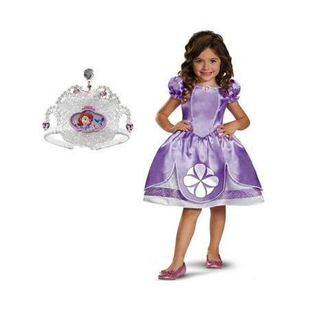 Girls Princess Sofia Costume Kit (Princess Sofia Costumes)