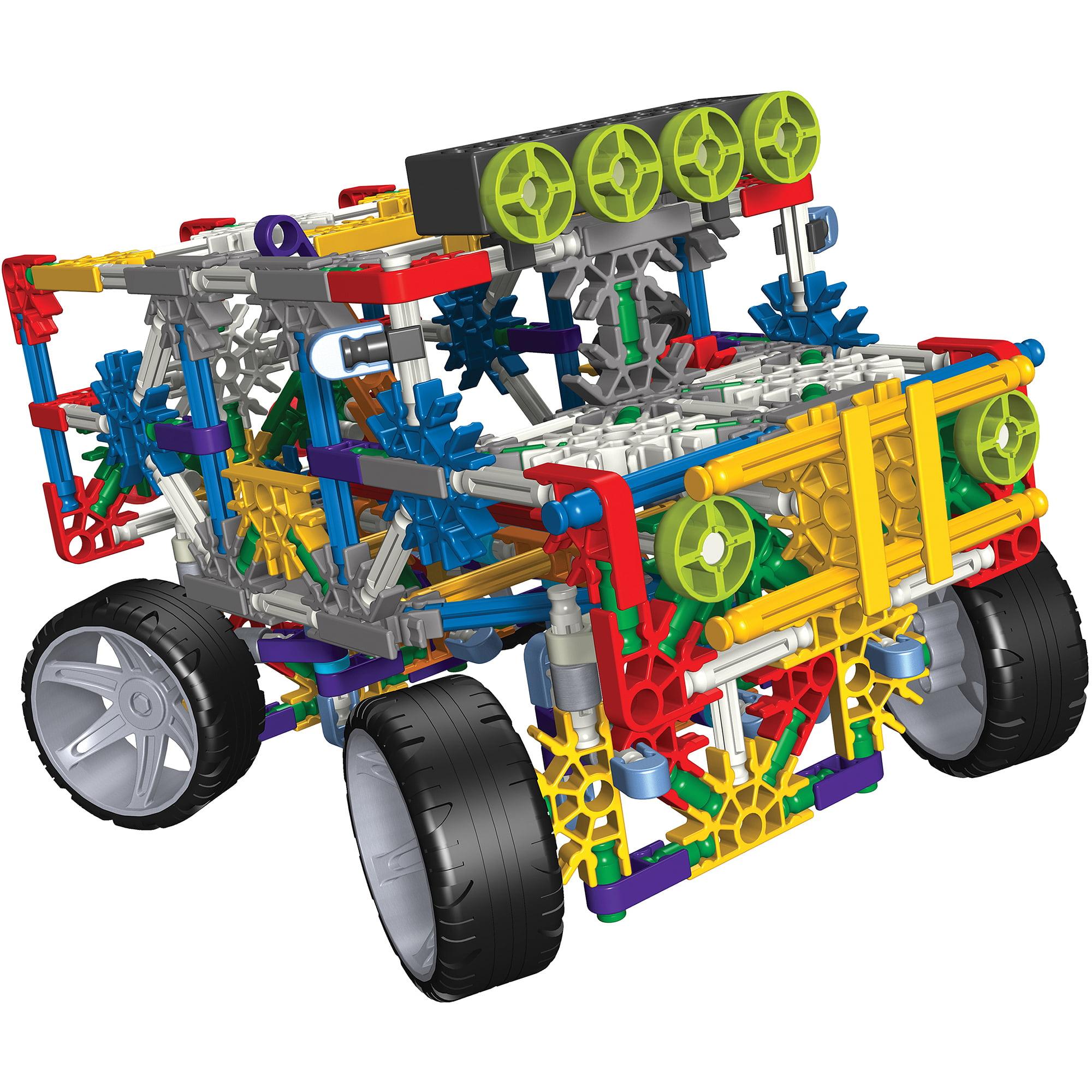 K'NEX 4 Wheel Drive Truck Building Set