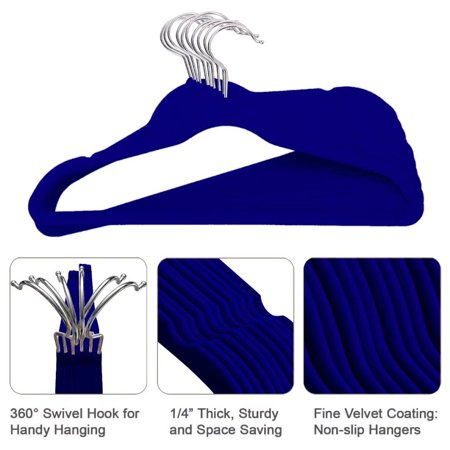 (100Pcs Velvet Flocking Non-Slip Clothes Hanger Skirt Kid Clothes Stand Colorful Clothes Hanger For Baby Children)