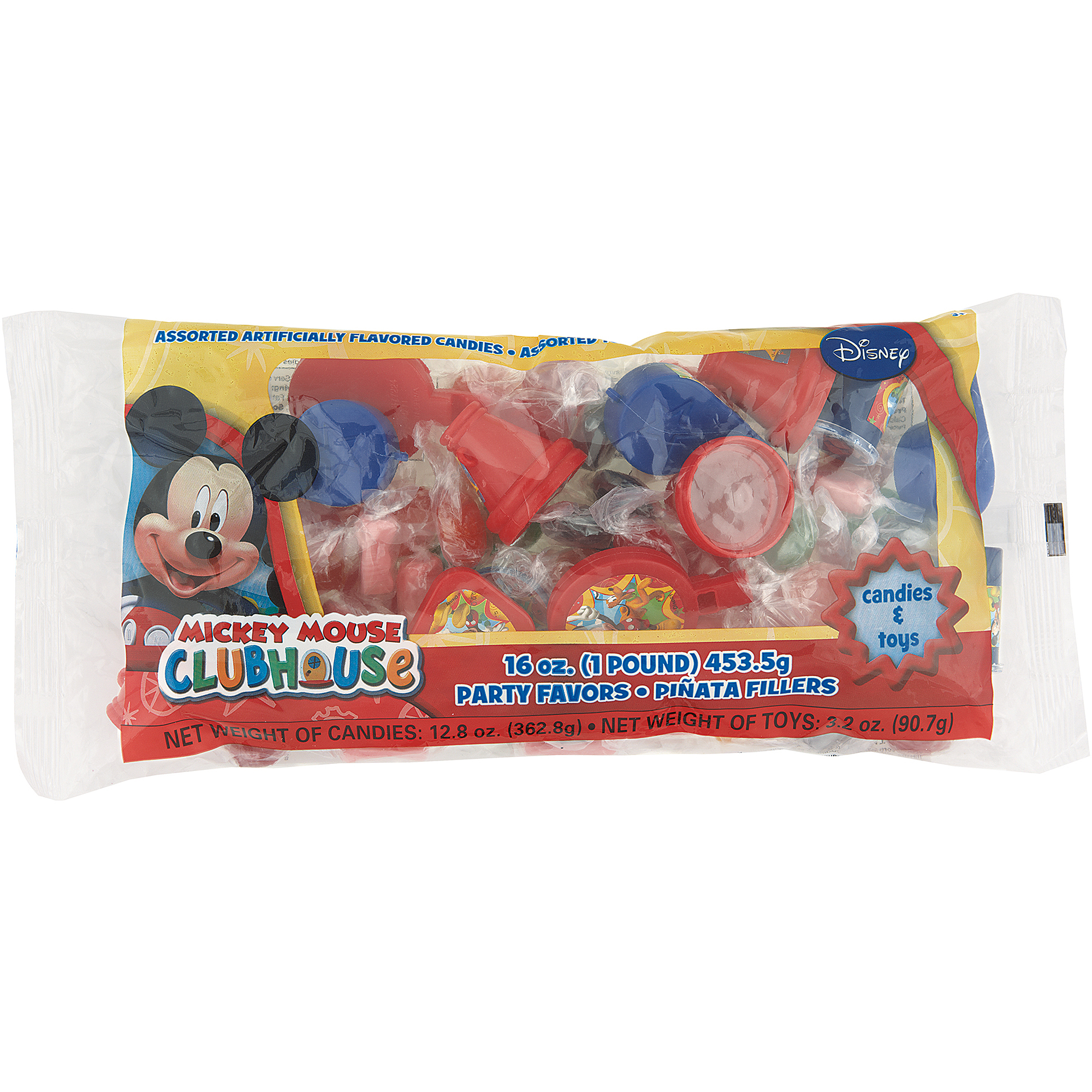 Mickey Mouse Clubhouse Pinata Filler, 1 lb