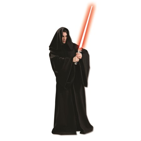 Star Wars Mens Super Dlx. Hooded Sith Robe Halloween Costume for $<!---->