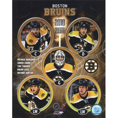 Photofile PFSAANA01401 2010-11 Bruins de Boston -quipe composites Photo Sports - 8 x 10 - image 1 de 1