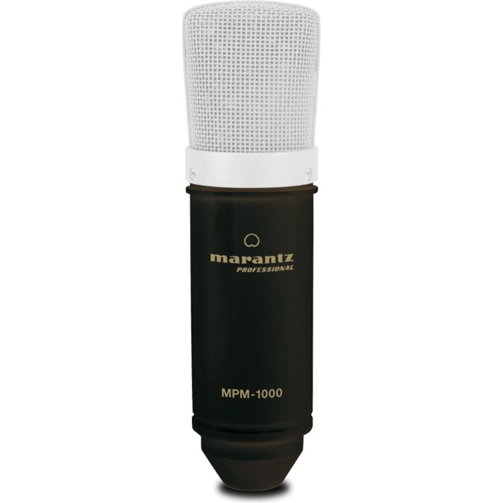 Marantz Professional MPM-1000 | Cardioid Condenser Microphone with Windscreen, Shock Mount... by inMusic Brands, Inc