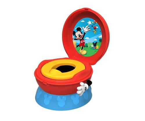 The First Years Disney Ba Mickey Mouse 3-In-1 Potty Syste...