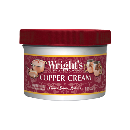 Copper Cookware Cleaner (Wright's Copper and Brass Cream Cleaner - 8 Ounce )