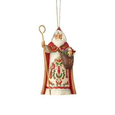 Around Santa (Jim Shore Around The World  4058820 Austrian Santa Ornament 2017)