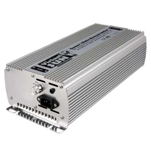 Powermax Virtual Sun VS600WDBD 600-Watt Dimmable MH/HPS Digital Grow Light Ballast