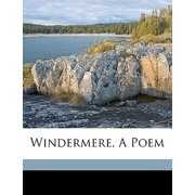 Windermere, a Poem