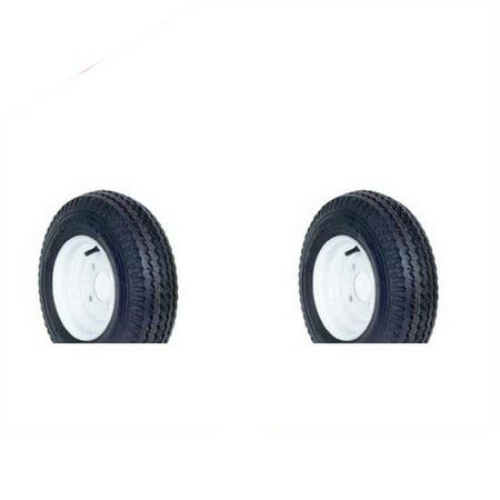 New Kenda Loadstar K371 Trailer Tires St480 8 4 Ply 2pcs Walmart Com