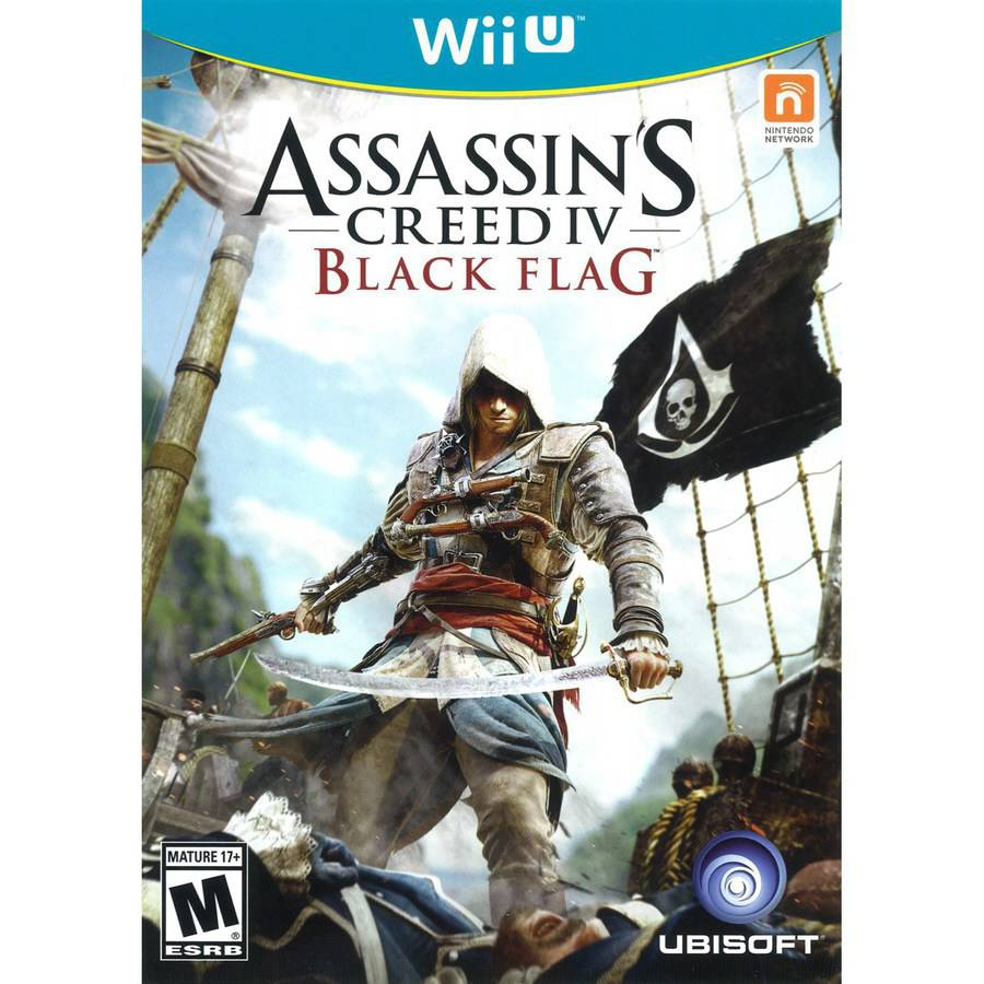 Assassin's Creed IV: Black Flag - Wal-Mart Exclusive (Wii U)