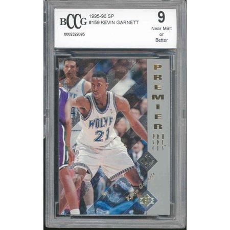 1995-96 sp #159 KEVIN GARNETT minnesota timberwolves rookie card BGS BCCG 9 ()